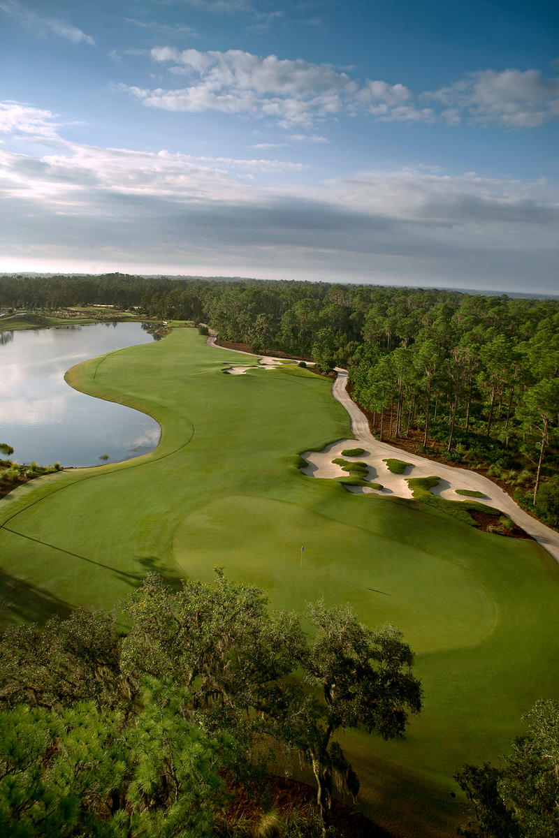 The Concession Golf Club No 10 Bradenton, FL.