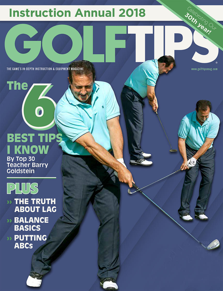 Barry Goldstein Golf Tips Magazine