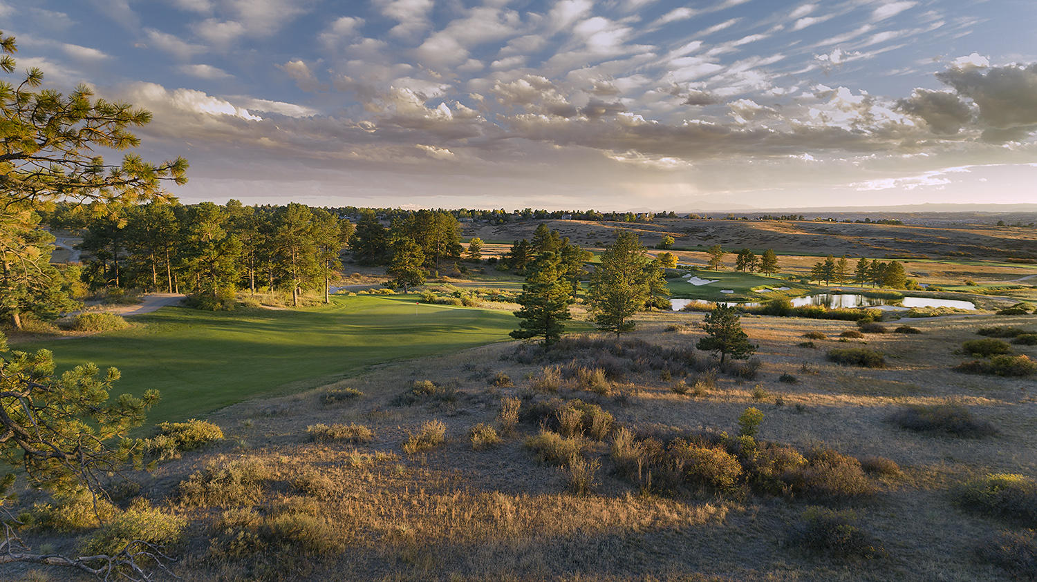 Colorado Golf Club No 10, Parker, CO.©USGA
