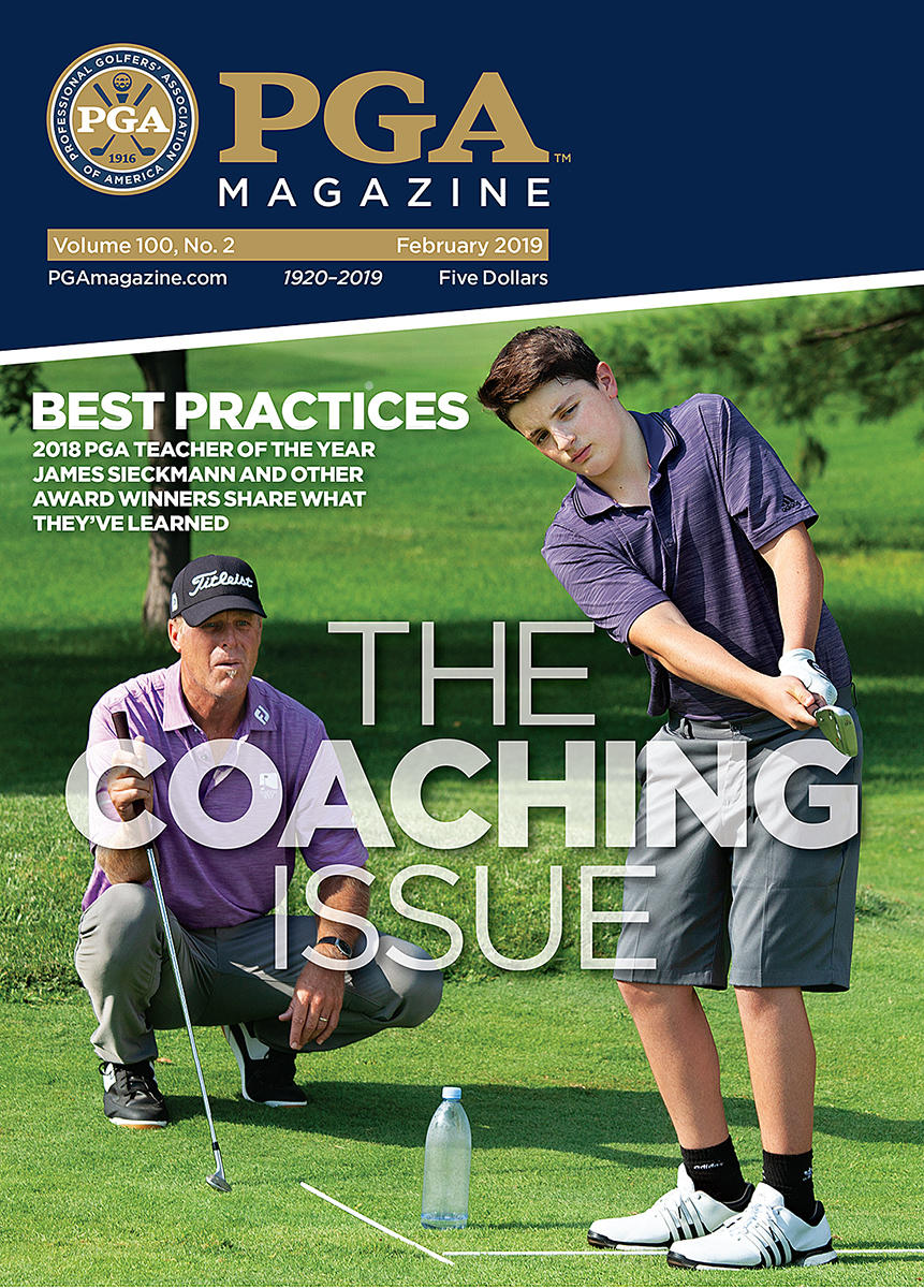 PGA Magazine Teaching Issue