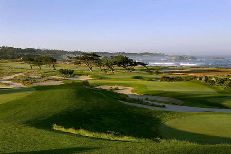 Monterey  Peninsula Golf Club No 11 Links Course Pebble Beach, CA.