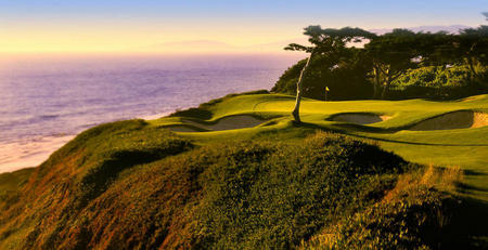 The Olympic Club No 6  Ocean Course San Francisco, CA.
