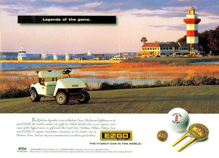EZ-GO Harbor Town Golf Links