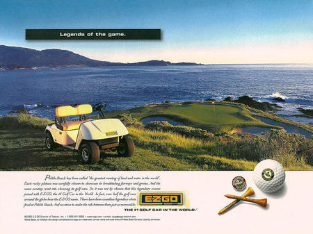 EZ-GO Pebble Beach