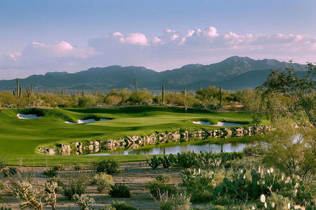 Ritz Carlton Dove Mountain No 3 Saguaro course Tucson, AZ.