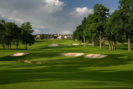 Southern Hills Country Club No 18 Tulsa, OK.