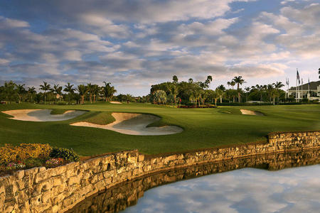BallenIsles Country Club No 9 East Course Palm Beach Gardens, FL.