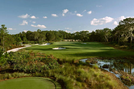 The Concession Golf Club No 14 Bradenton, FL.