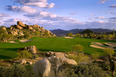 Troon North Golf Club No 15 Monument Course Scottsdale, AZ.