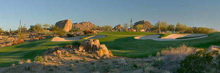 Troon North Golf Club  No 10 Pinnacle Course Scottsdale, AZ.