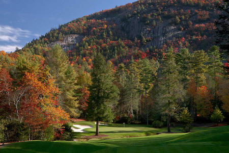 Wade Hampton Golf Club No 17 Cashiers, NC.