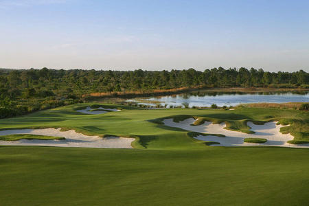 The Concession Golf Club No 12 Bradenton, FL.