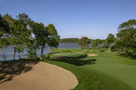 Hazeltine National Golf Club No 10 Chaska, MN.