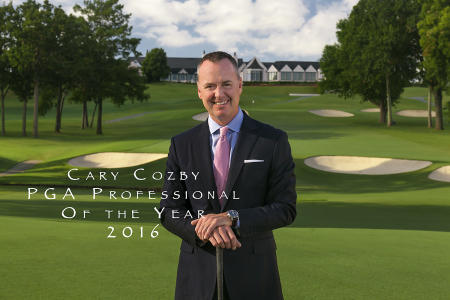 Cary Cozby PGA Professional of the Year 2016