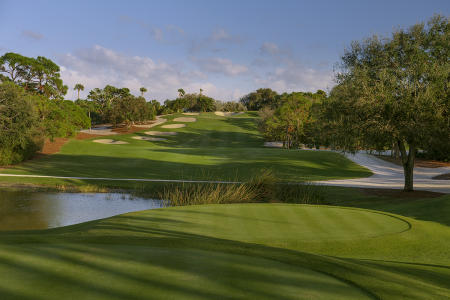 Jupiter Hills Club No 16 Hills Course Tequesta, FL.