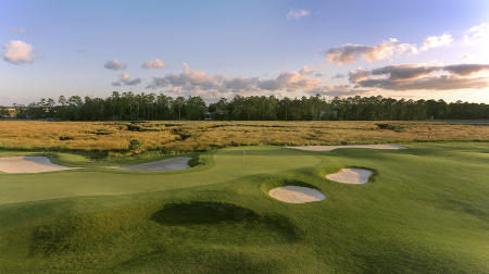 Osprey Cove Golf Club No18 St. Marys, GA.