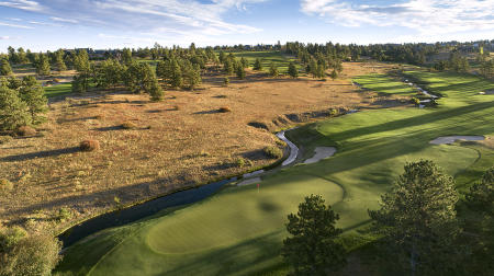 Colorado Golf Club No 16, Parker, CO. ©USGA